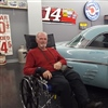 Tom Boyd with Antique Car