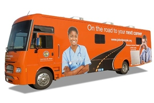 Mobile Workforce Center adds two new stops in July