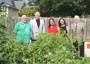 Drug Court Recovery Homes receive energy efficient upgrades, new home garden through partnership between Land Use Department, State's Attorney's Office