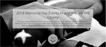 2018 Memorial Day Events In and Around Will County