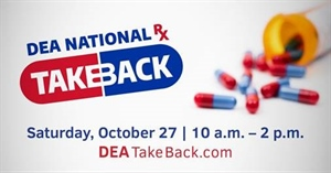 DEA National Take Back Day   October 27, 2018
