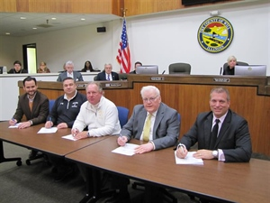 Project Labor Agreement for Animal Control, EMA buildings signed