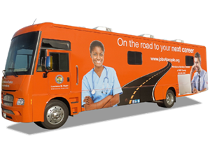 Mobile Workforce Center's March schedule released