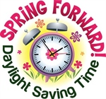 Daylight Savings Time Begins March 8