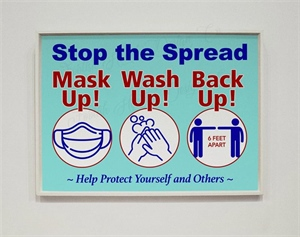 Mask Up  Wash Up  Back Up