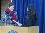 Bertino-Tarrant Sworn In As Next Will County Executive