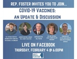 Will County Executive to participate in Virtual Update on COVID-19 vaccine