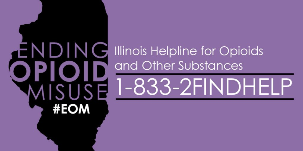 Illinois Statewide Opioid Hotline
