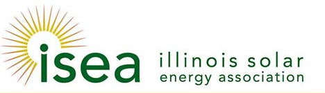 Illinois Solar Energy Association ISEA Logo