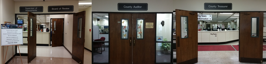 WC Treasurer, Board of Review & Auditor's offices